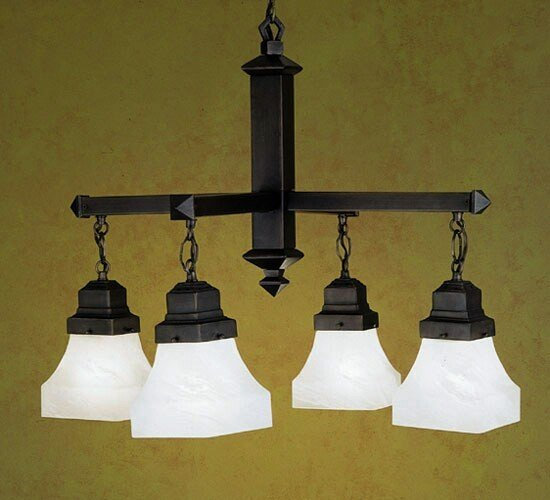 Meyda Tiffany Country Bungalow 4-Light Chandelier