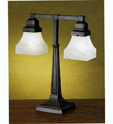 Meyda Tiffany Country Bungalow 2-Light Desk Lamp