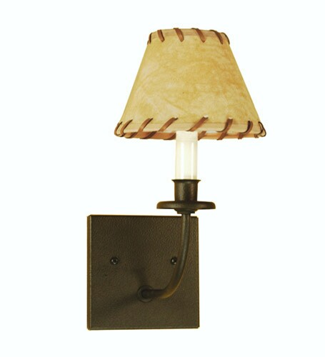 Meyda Tiffany Rustic Lodge 1-Light Sconce