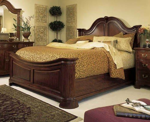 American Drew Cherry Grove  Mansion Queen Bed