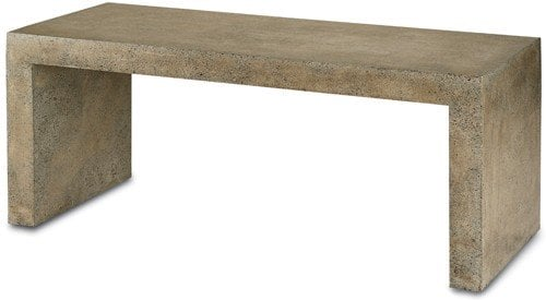 Currey Company Bench Table