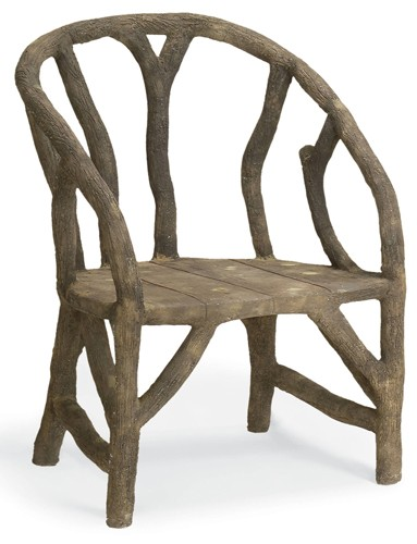 Currey & Company Arbor Chair