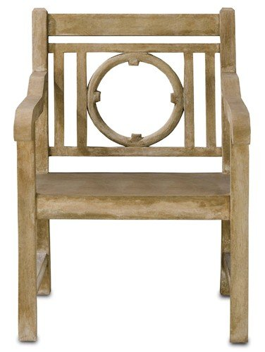 Currey & Company Leagrave Chair
