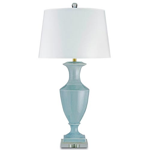 Currey and Company Timeless Table Lamp Blue