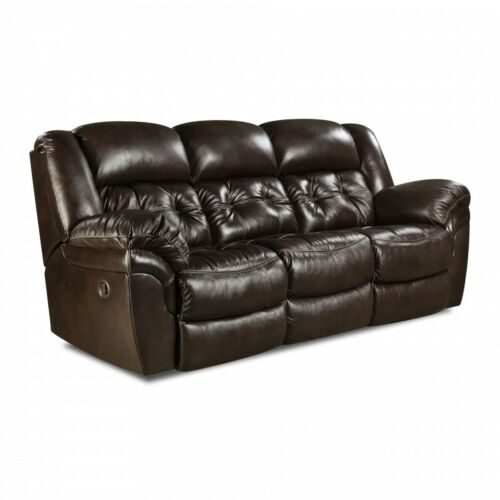 HomeStretch Cheyenne 3 Piece Power Reclining Living Room Set in Whiskey