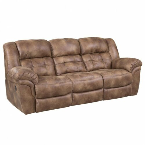 HomeStretch Frontier Power Reclining 3 Piece Living Room Set in Almond