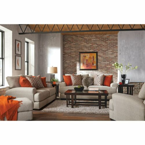 Jackson Ava Loveseat with USB port in Cashew