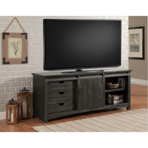 Parker House Durango 76-Inch Console with Sliding Door