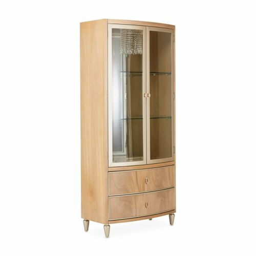 AICO Villa Cherie Display Cabinet by Michael Amini and Jane Seymour Living
