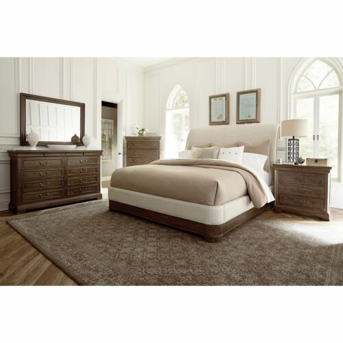 A.R.T. Furniture Saint Germain Cal King Upholstered Sleigh Bed on Clearance