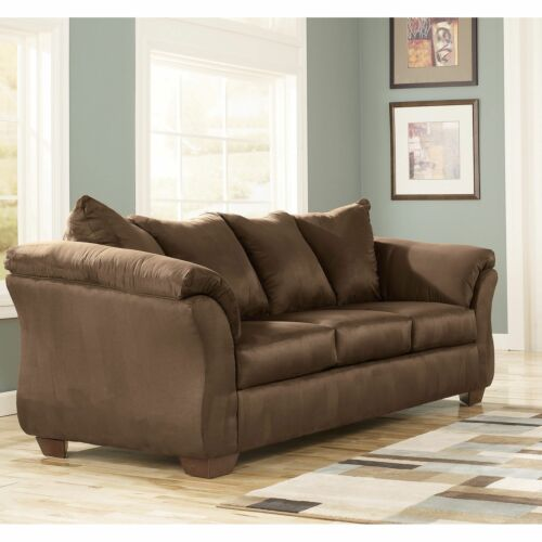 Ashley Furniture Darcy Stationary Sofa in Cafe on Clearance