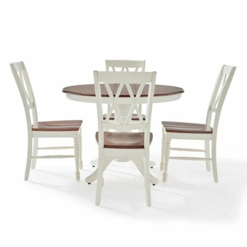 Crosley Shelby 5 Piece Round Dining Set