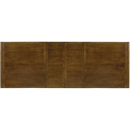 Hooker Furniture Archivist Trestle Dining Table with (2) 18 Inch Leaves