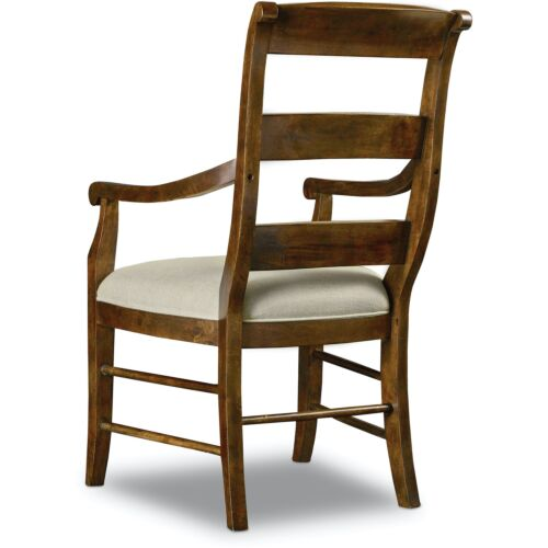 Hooker Furniture Archivist Ladderback Arm Chair-Set of 2