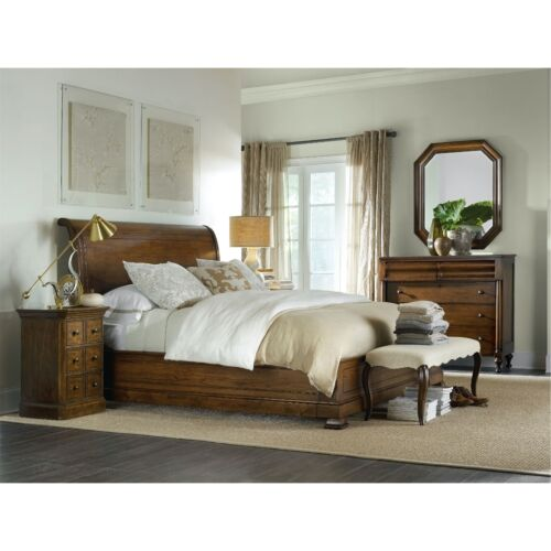 Hooker Furniture Archivist King Sleigh Bed