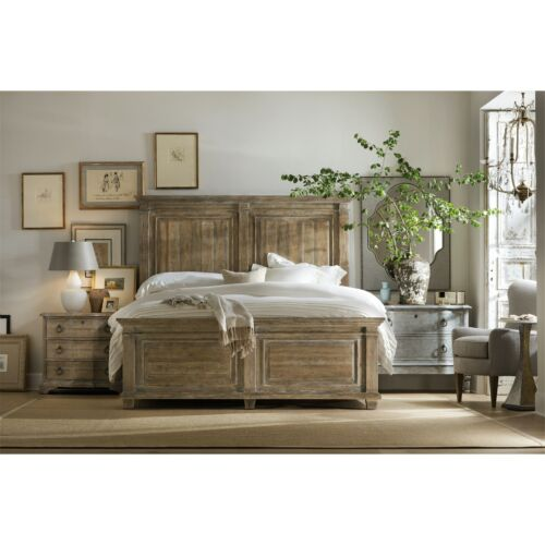 Hooker Furniture Boheme Laurier King Panel Bed