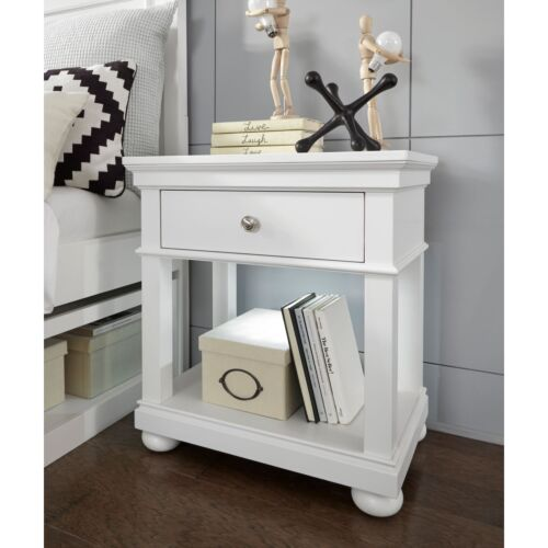 Legacy Classic Kids Canterbury Open Nightstand in Natural White