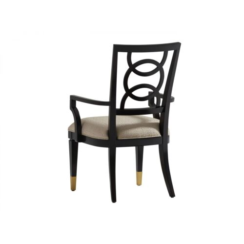 Lexington Carlyle Pierce Upholstered Arm Chair Set of 2