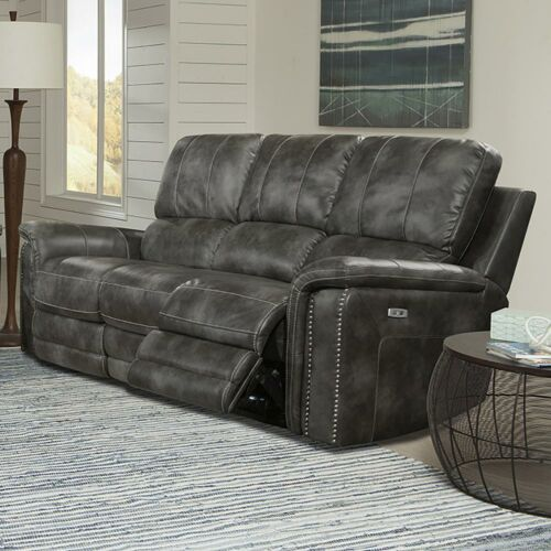Parker Living Belize Power Sofa in Ash