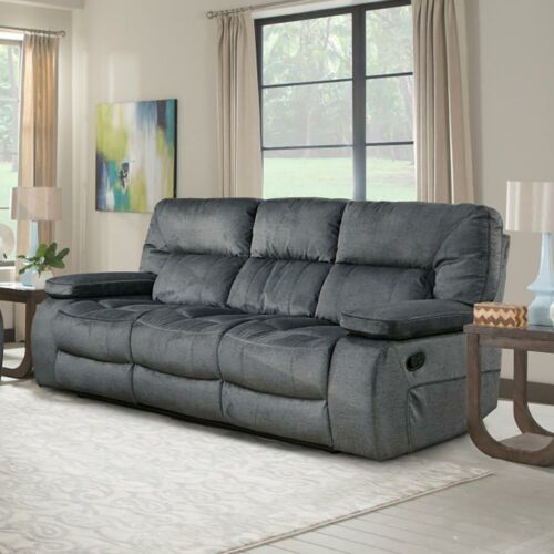 Parker Living Chapman Manual Triple Reclining Sofa in Polo