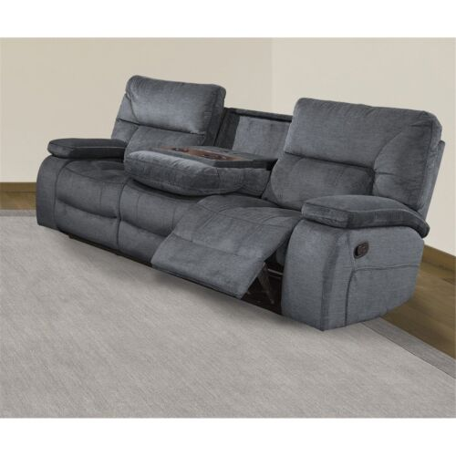 Parker Living Chapman Manual Drop Down Console Sofa in Polo
