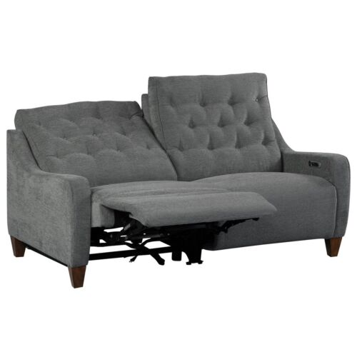 Parker Living Chelsea Power Loveseat in Willow Grey