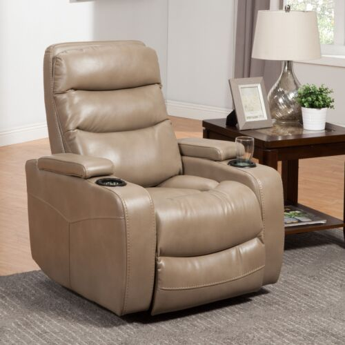 Parker Living Genesis Power Home Theater Recliner in Linen