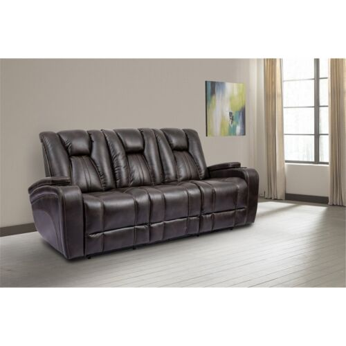 Parker Living Optimus Power Sofa in Truffle