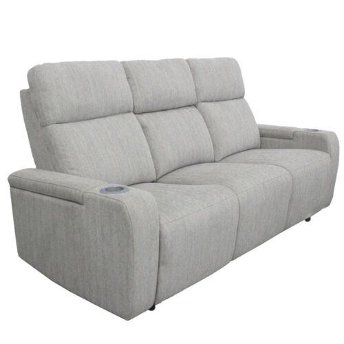 Parker Living Orpheus Power Drop Down Console Sofa in Bisque