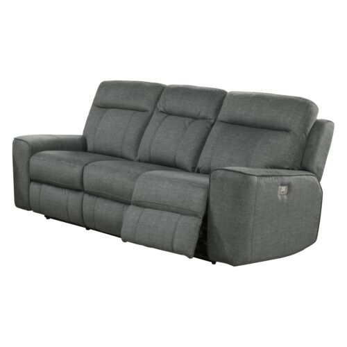 Parker Living Parthenon Power Sofa in Titanium
