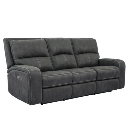 Parker Living Polaris Power Sofa in Slate