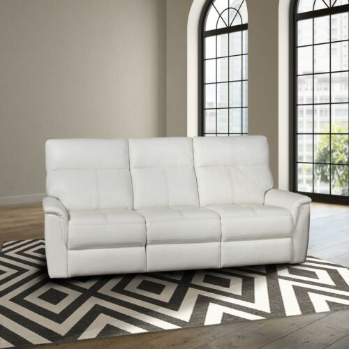 Parker Living Reed Power Sofa in Pure White