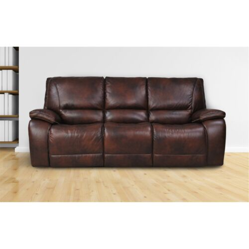 Parker Living Vail Power Sofa in Burnt Sienna