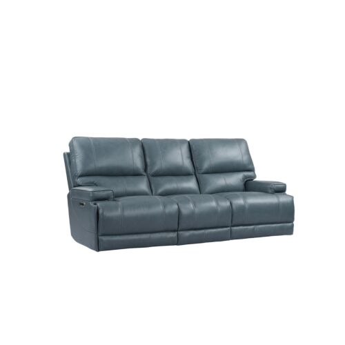 Parker Living Whitman Power Cordless Sofa in Verona Azure