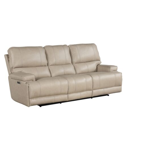 Parker Living Whitman Power Cordless Sofa in Verona Linen